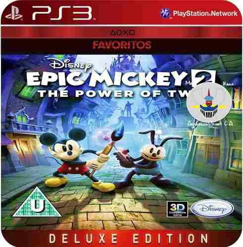 Disney Epic Mickey 2: The Power Of Two Ps3 (8 Gb) Digital