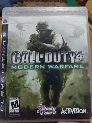 Juego Ps3 Call Of Duty 4 Moder Warfare Usado, Envio Gratis