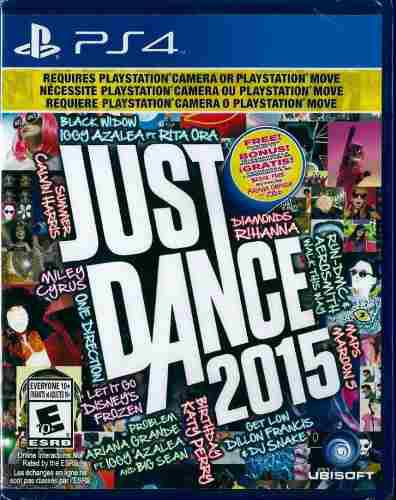 Just Dance 2015 Ps4 Nuevo Sellado Original Disco Fisico
