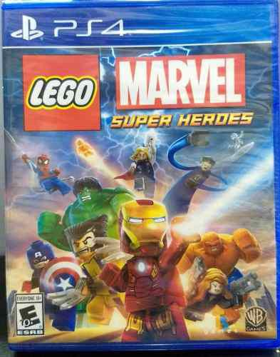 Lego Marvel Super Heroes.-ps4