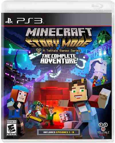 Minecraft: Story Mode The Complete Adventure - Playstat C9