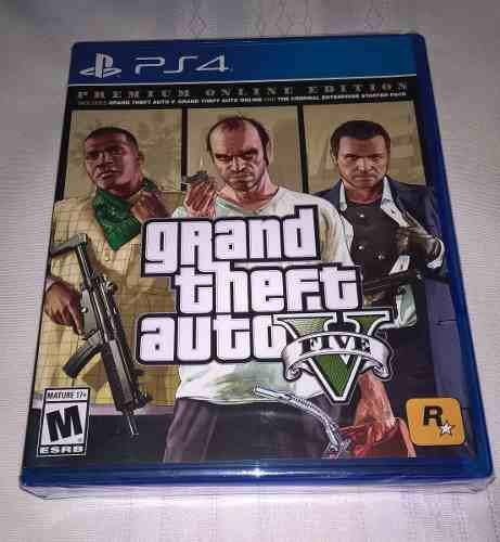 Ps4 Grand Theft Auto V 5 Premium Edition * Fisico Y Nuevo