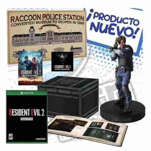 Resident Evil 2 Edicion De Colección Ps4 Collectors Edi