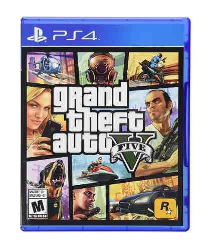 Videojuego Ps4 Grand Theft Auto V Disco Sellado Envío