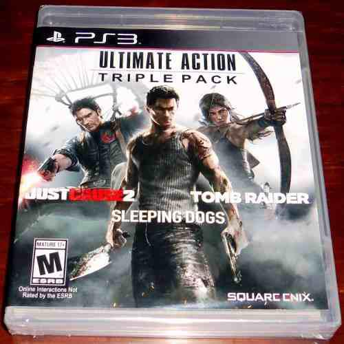 Videojuegos Ultimate Action Triple Pack Ps3 Nuevos Sellados