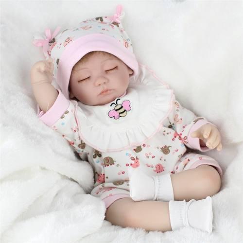 Auténtica Bebe Reborn Muñeca Realista Silicon, Tela Baby