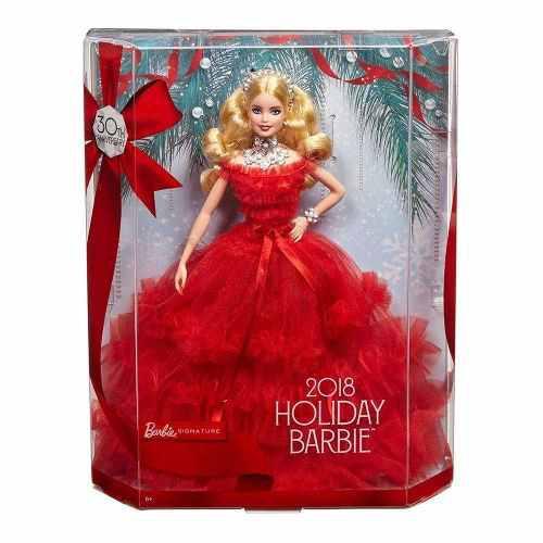 Barbie Felices Fiestas Holiday 2018 Nueva 30 Aniversario