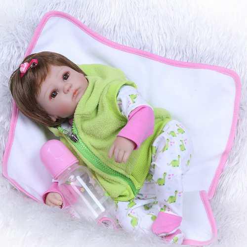 Bebé Reborn Muñeca Simulación Plástica Suave Ambiental