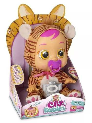 Cry Babies Bebes Llorones Nala Tigre Modelo 2018 Boing Toys