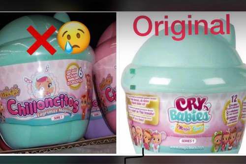 Cry Babies Mini (L0s Originales) Solo Verdes