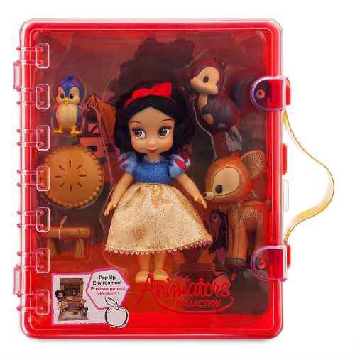 Disney Store Mini Set Blanca Nieves Animator 100% Original