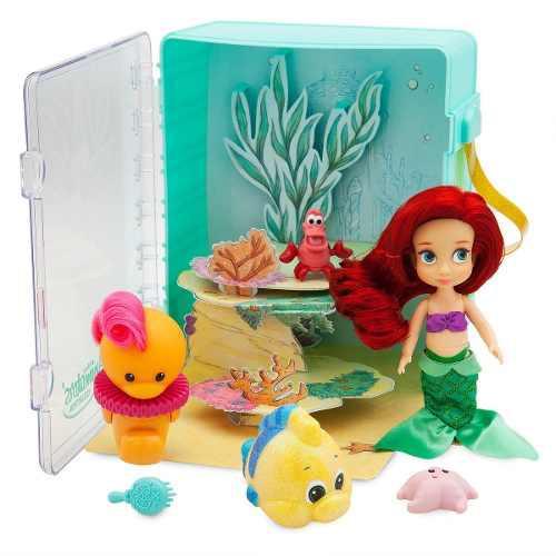 Disney Store Set Muñeca Ariel La Sirenita Animators