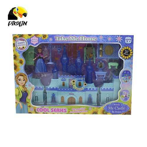 Envio Gratis+ Castillo Tipo Frozen Luz Y Sonidos Sg29000