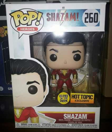 Funko Pop! Dc Heroes: Shazam! - Shazam Hot Topic Hot Topic