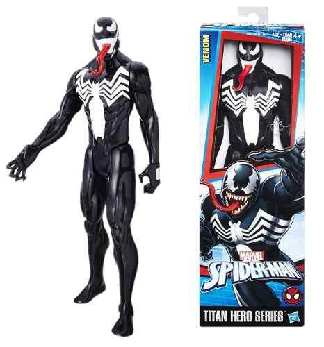 Hasbro Figura De Acción Venom Titan Hero Serie 12 Pulgadas