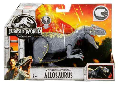 Jurassic World Allosaurus Con Sonido Nuevo En Oferta