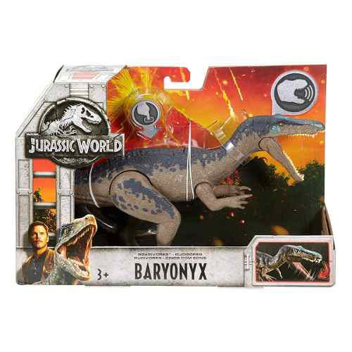 Jurassic World Baryonyx Sonido Mattel 2018