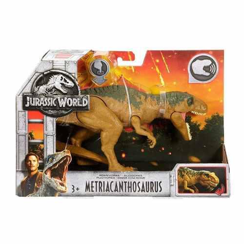 Jurassic World Metriacanthosaurus Sonido Mattel 2018