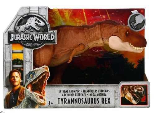 Jurassic World Tyrannosaurus Rex Mandíbulas Extremas Mattel