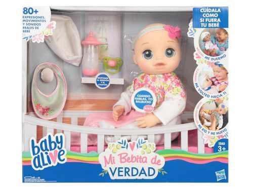 Mi Bebita De Verdad De My Little Mommy