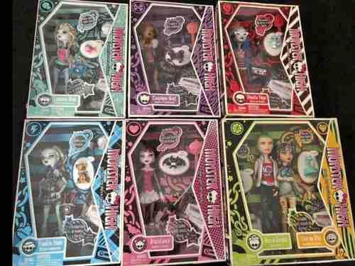 Monster High Colección 1 Edición 6 Pz Lagoona Draculaura