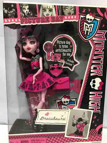Monster High Draculaura Picture Day Remate