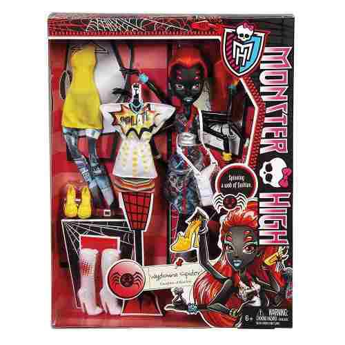Monster High Wydowna Spider Con Modas Muñeca