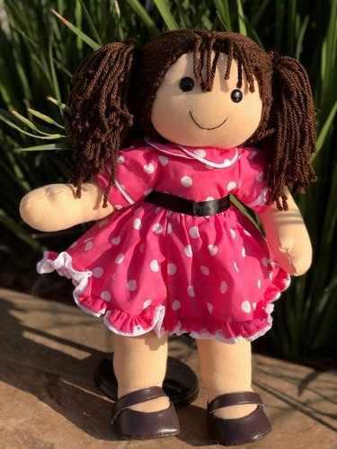 Muñeca De Tela Y Estambre (muñeca De Trapo)