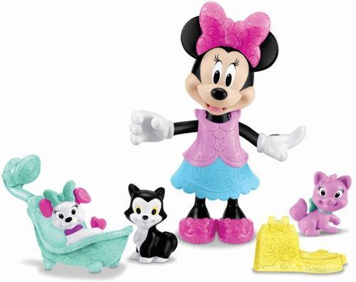 Muñeca Minnie Mouse Disney Modas C/ Accesorios Con Envío !