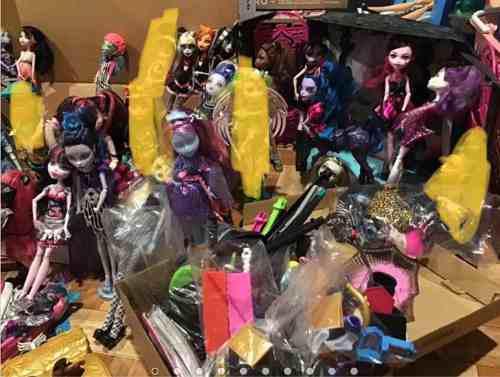 Muñecas Monster High Lote 50 Muñecas Sets Y Más Precio X