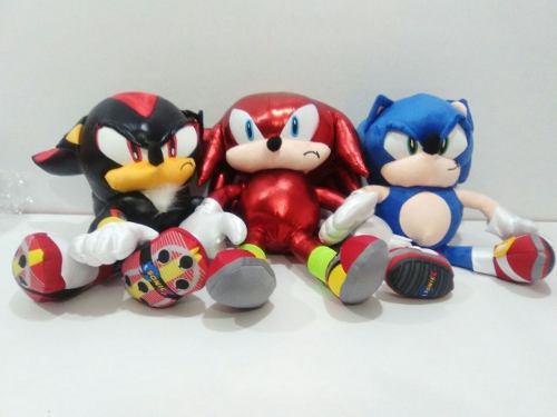 Muñecos De Peluche Sonic Boom 3pz Envío Gratis!!!