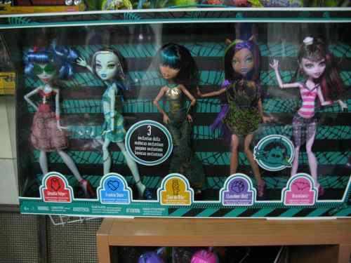 Set De 5 Monster High