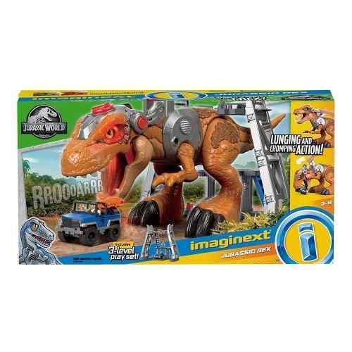 T-rex Imaginext Dinosaurio Jurasicc World !!!!! Luz Y Sonido