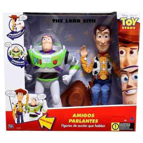 Toy Story 2 Figuras Parlantes Buzz Lightyear Y Woody Nuevo