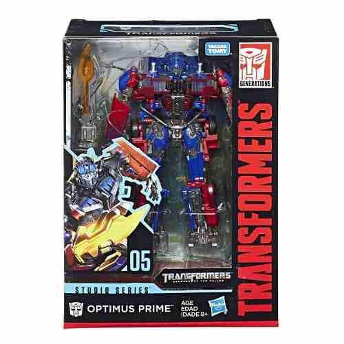 Transformers Optimus Prime 05 Studio Series Figura Juguetes