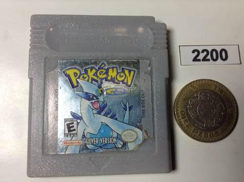 2200. Pokemon Sylver Version *** Gameboy Pokechay