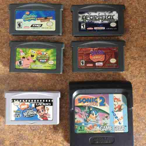 6 - Gameboy Advance / Cartuchos / Juegos/ Casettes