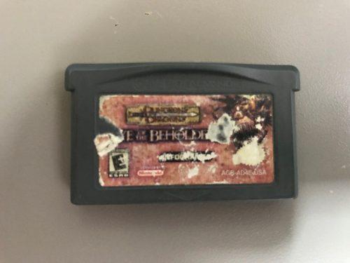 Ad&d The Eye Of Beholder Para Game Boy Advance