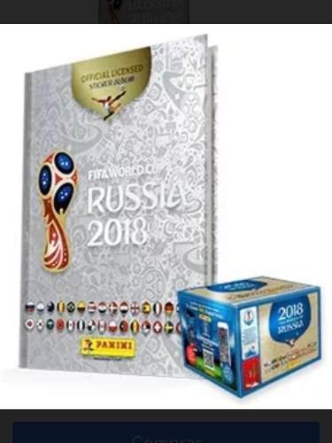 Album Mundial Rusia 2018 Platinum + Caja Con 100 Sobres