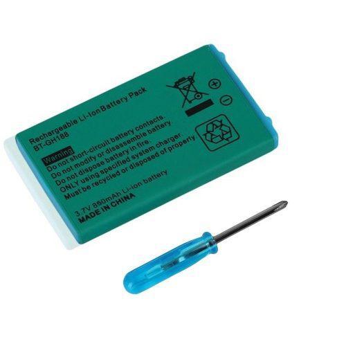 Batería Recargable Litio Nintendo Para Game Boy Advance Sp
