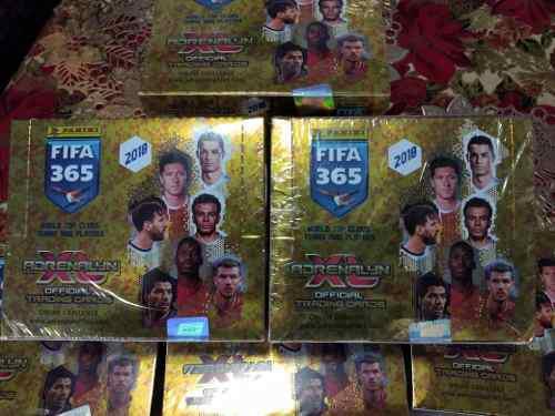 Caja De Tarjetas Panini Adrenalyn Fifa 365 2018