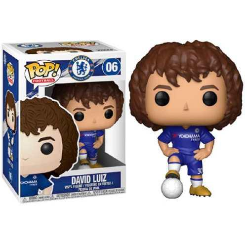 Funko Pop Premier League Soccer Chelsea David Luiz 1 Figura