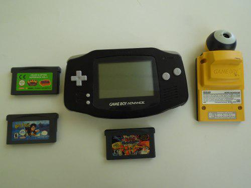 Game Boy Advance Con Game Boy Camera Y 3 Juegos