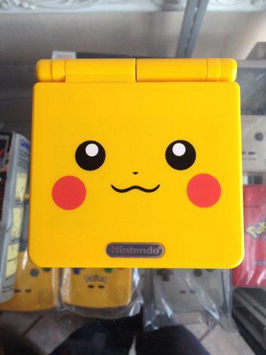 Game Boy Advance Sp Edicion Pikachu Gba Modelo Ags-101