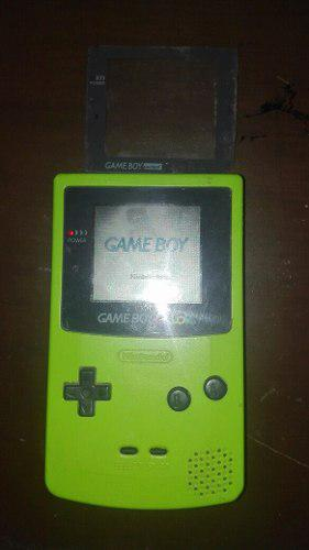 Gbc Game Boy Color Verde Limón Funcionando