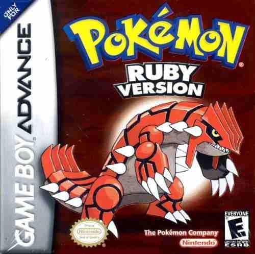 Juegosversión Pokemon Ruby - Game Boy Advance..