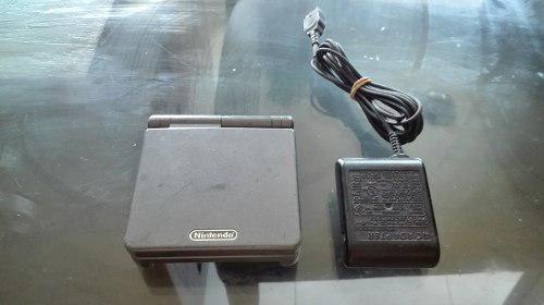 Nintendo Game Boy Advance Sp Coloir Gris Obscuro Doble Luz