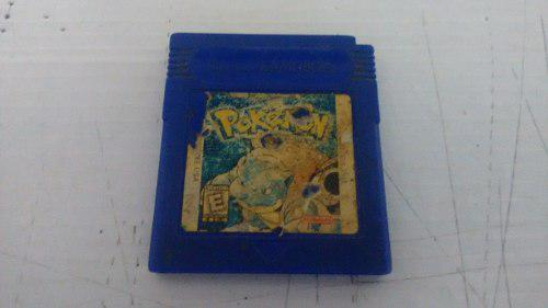 Pokemon Blue Version Para Nintendo Game Boy,funcionando Bien