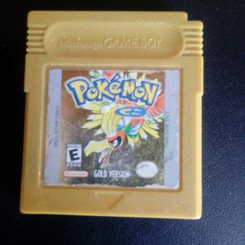 Pokemon Gold Version Gameboy