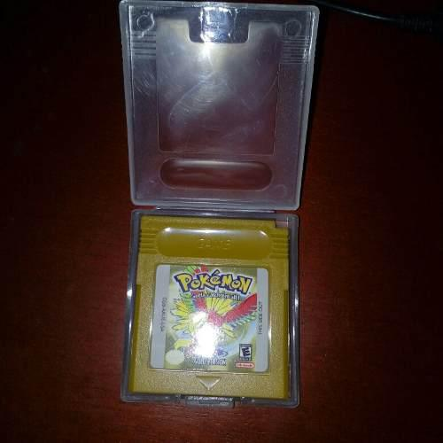 Pokemon Gold Version Gbc Re-pro+ Envio Gratis
